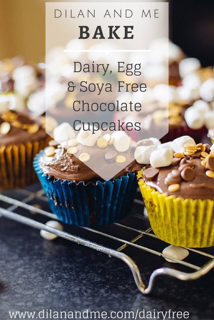 My favourite chocolate cupakes - and they are dairy, egg and soya free! Check out this easy recipe for crazy cake vegan chocolate cupcakes. Perfect for baking with kids, great for kids with allergies, and tasty enough for kids parties and special occasions. No one will ever know they are allergen free. Getting baking with your toddlers now and enjoy together! Baked with Moo Free Choccy Drops. See more at dilanandme.com