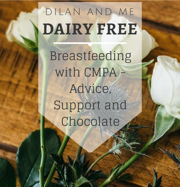 The number 1 website for breastfeeding with CMPA advice. Find answers to all your questions about dairy allergies, get help and support going dairy free and find tons of information about cows milk protein allergies. Lots of info for other food allergies too, and a huge list of dairy free chocolate (it's soya free too!). See more at dilanandme.com/dairyfree