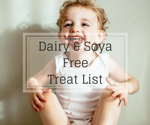 Link to Dairy and Soya Free Treat List