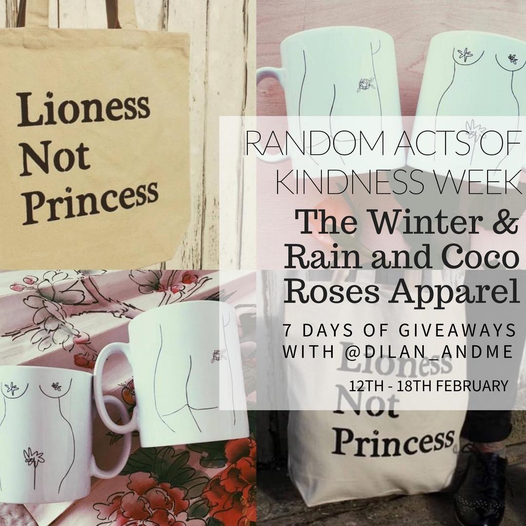 win Winter and Rain Coco Roses Apparel