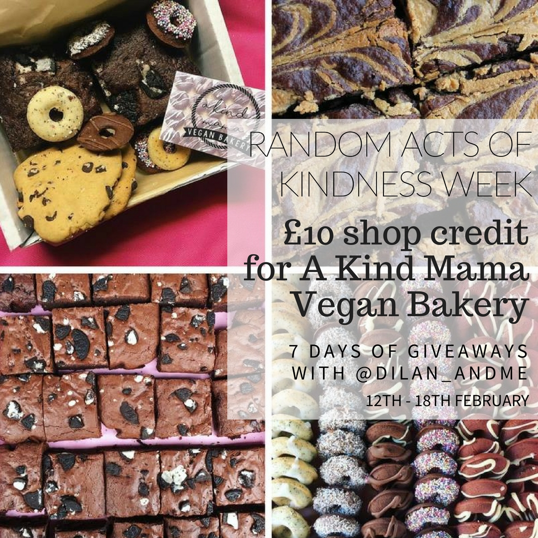 Win £10 shop credit for A Kind Mama Vegan Bakery