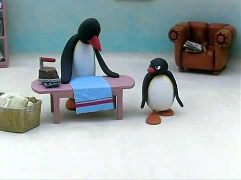 Why are they ironing when they don't wear clothes?! Pingu - 40 Questions You'll Ask Yourself While Watching Kids TV