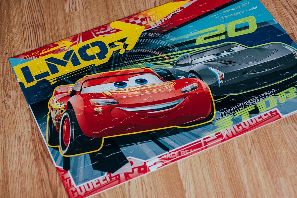 Review Ravensburger Disney Cars 3 Giant Floor Puzzle