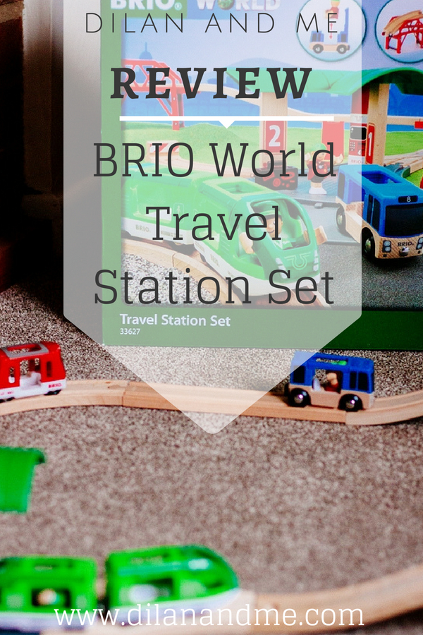 Toy Review of the BRIO World Travel Station Set - Great birthday gift idea for kids 3+. Find out what comes in the BRIO set, and watch the video to see the Travel Station Set in action. The perfect addition to your train set collection