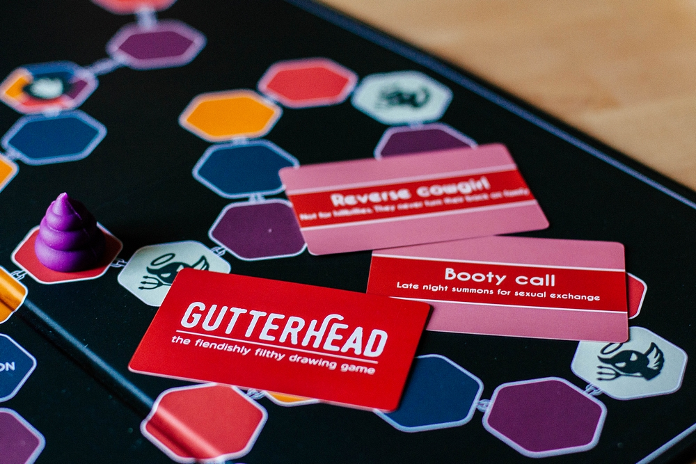 Review: Gutterhead Adult Party Game - If Cards Against Humanity and Pictionary Had a Baby ...